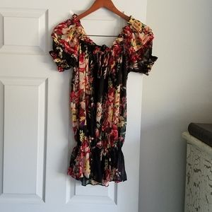 American Rag Tunic S (Like One Size) Floral  Excel